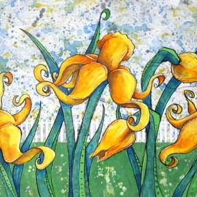 Backyard Daffodils