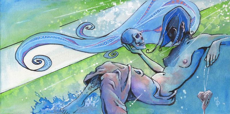 Death and Love | Original Art by Miles Davis | Massive Burn Studios