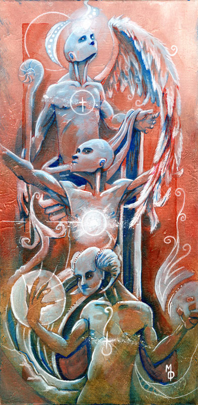 Hierarchy | Original Art by Miles Davis | Massive Burn Studios
