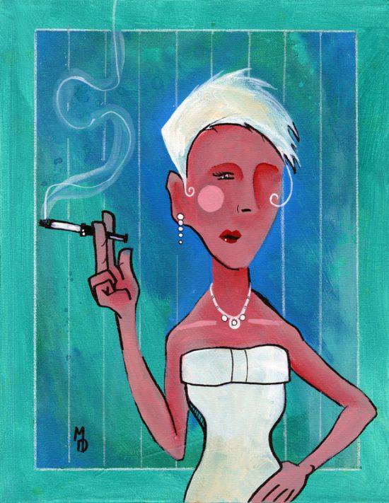 Diva Classica | Original Art by Miles Davis | Massive Burn Studios