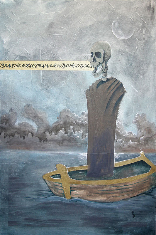 The Ferryman | Original Art by Miles Davis | Massive Burn Studios