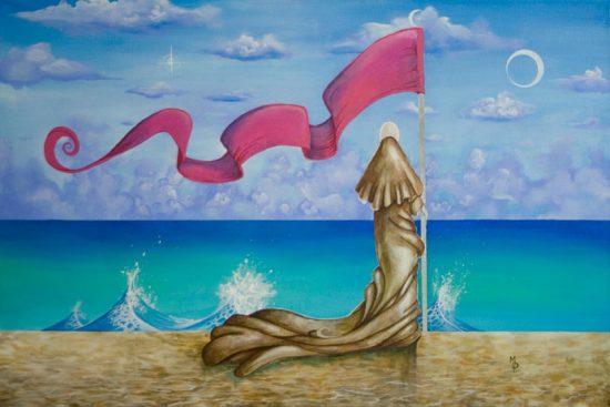 Cerulean Tides | Original Art by Miles Davis | Massive Burn Studios