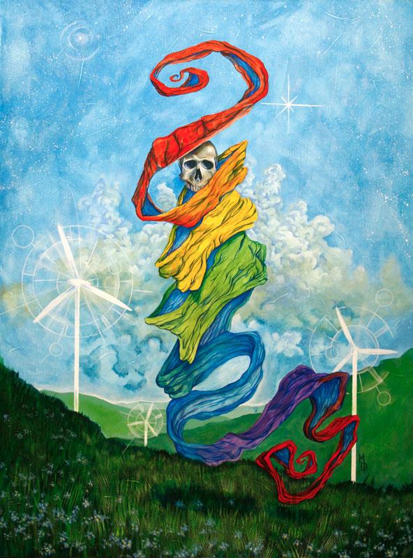 Glide | Original Art by Miles Davis | Massive Burn Studios