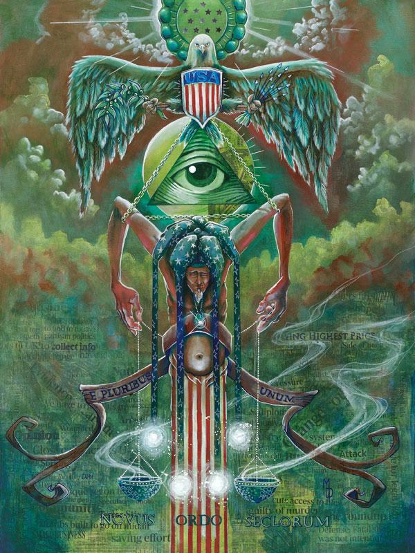 State of the State | Original Art by Miles Davis | Massive Burn Studios