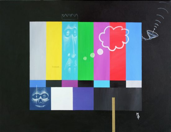 Entertainment King | Original Art by Miles Davis | Massive Burn Studios