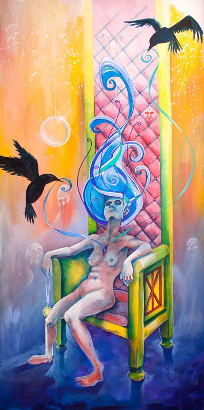 Wicked Woman's Counsel   Original Art by Miles Davis   Massive Burn Studios