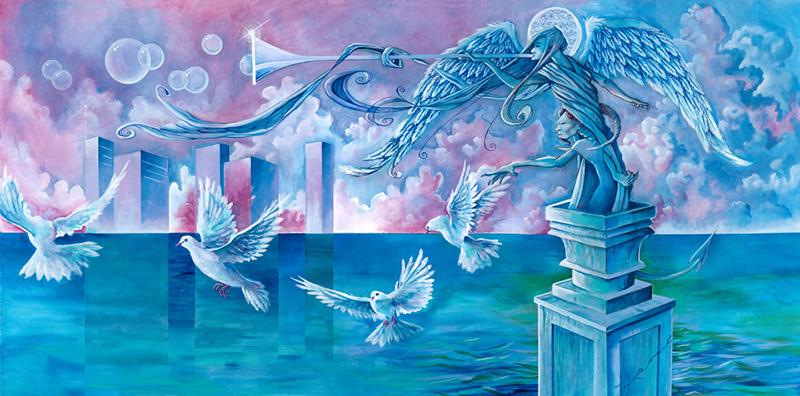 Launch Forth into the Deep | Original Art by Miles Davis | Massive Burn Studios