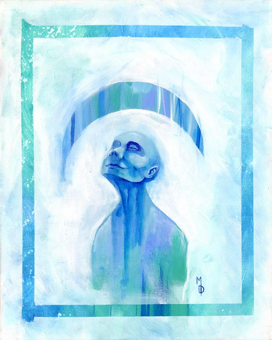 Serenity | Original Art by Miles Davis | Massive Burn Studios