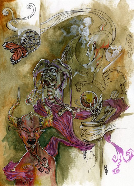 Burden of Spirituality   Original Art by Miles Davis   Massive Burn Studios
