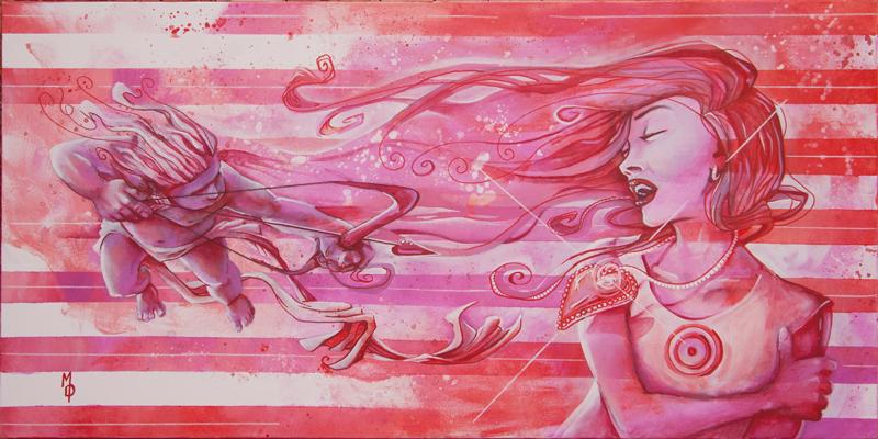 Lovestruck   Original Art by Miles Davis   Massive Burn Studios