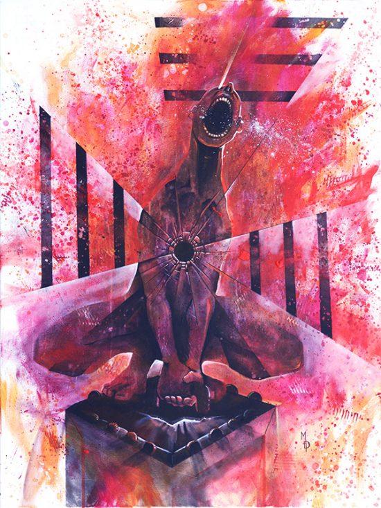 A Futile Release | Original Art by Miles Davis | Massive Burn Studios