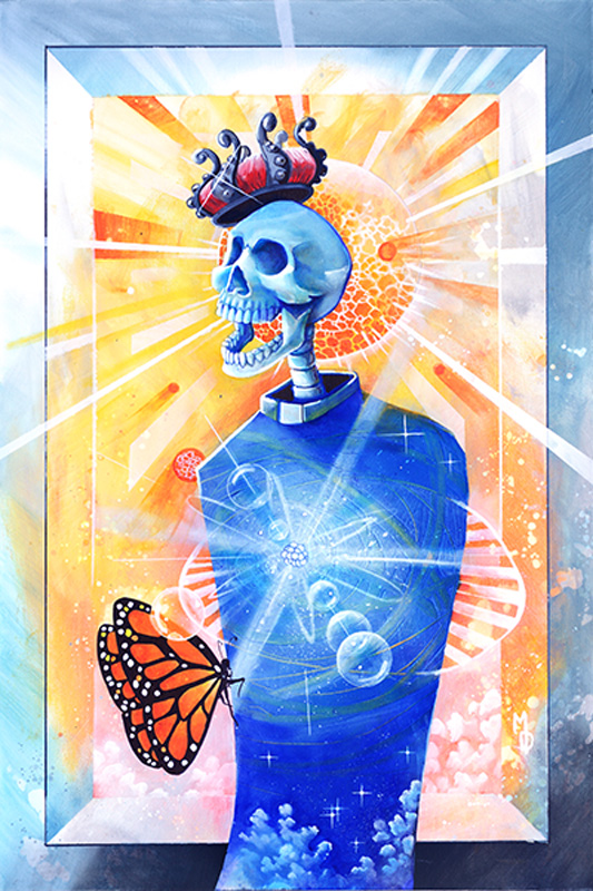 Dr. Atom | Original Art by Miles Davis | Massive Burn Studios