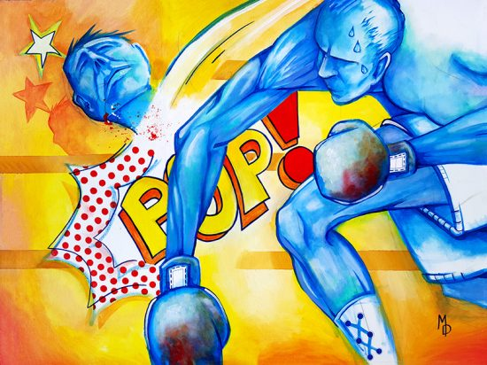 POP! | Original Art by Miles Davis | Massive Burn Studios
