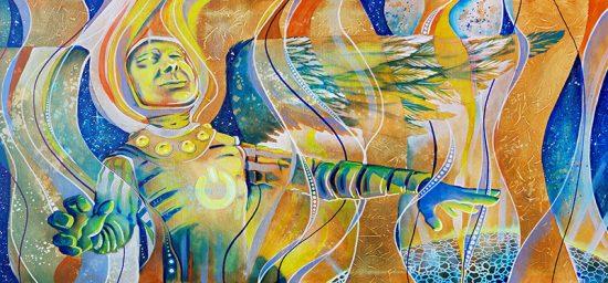 The Wondernaut | Original Art by Miles Davis | Massive Burn Studios